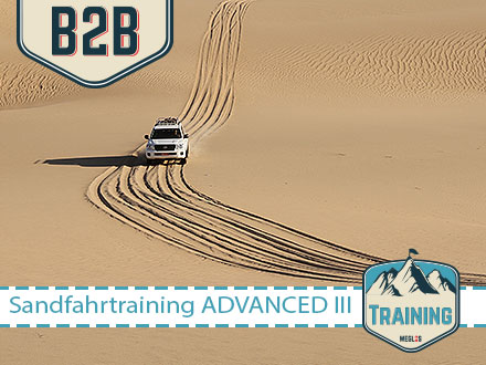 WEGLOS | Oman – TTT – Train the Trainer Sandfahrtraining ADVANCED III